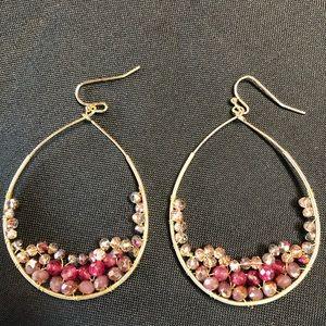 Jewelry - Gorgeous beaded earrings.